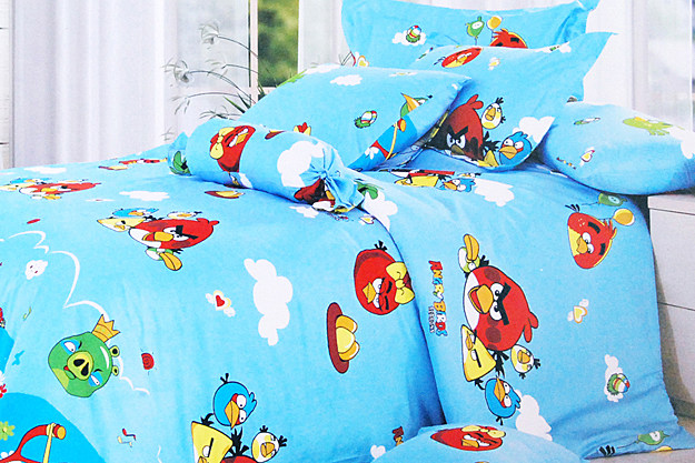 Angry Birds Bedsheets