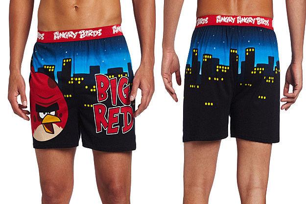 Angry Birds Boxer Shorts