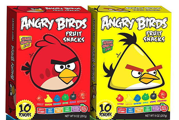 Angry Birds Fruit Snacks
