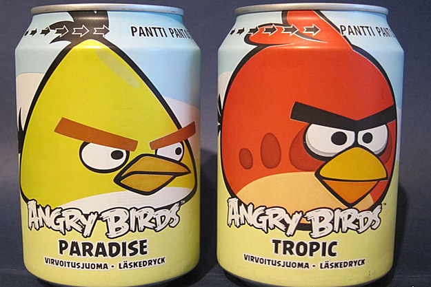 Angry Birds Beverages