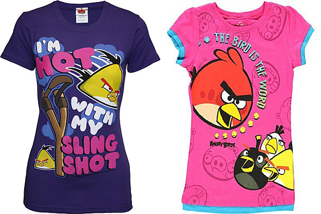 Angry Birds Women's T-shirts